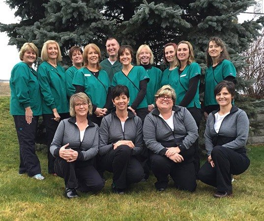 The Willow Run Dental Association team